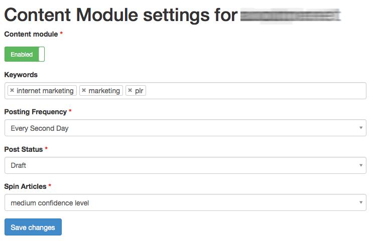 EBN Content Module